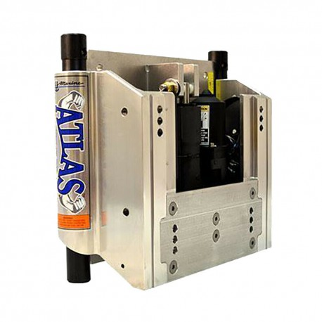 ATLAS HYDRAULIC 4 INCH SET BACK HEAVY DUTY JACK PLATE, MAX HP 400HP
