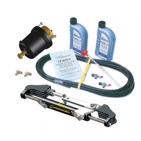 Hy-Drive ComKit-1 Hydraulic Steer kit for up to 200 hp Outboard Motors