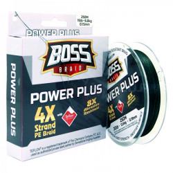 Boss Power Plus 4X Braided Line 250 m Spool
