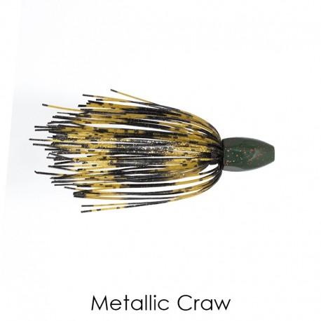 1 Oz METALLIC CRAW Tungsten Punch Skirt Weights - Mossback