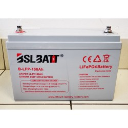 BSL Batt 12V 100Ah LiFePO4 Lithium Ion Deep Cycle Battery
