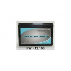 Freedom Won 12V 100Ah LiFePO4 Lithium Ion Deep Cycle Battery