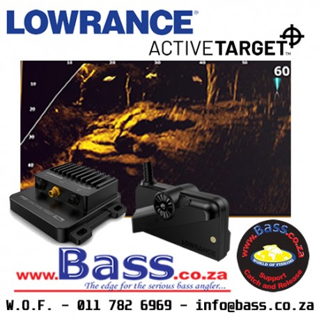 LOWRANCE ACTIVETARGET LIVE SONAR TRANSDUCER AND MODULE