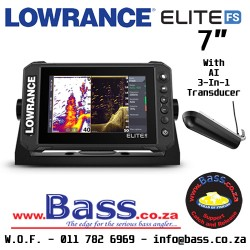 Lowrance Elite FS 7 with Active Imaging 3-in-1 Transducer (ROW Model)