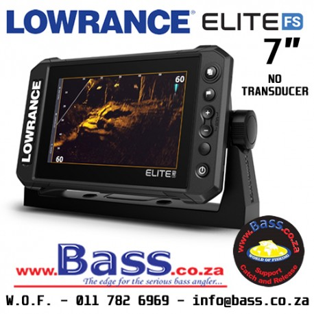 Lowrance Elite-7 FS FishFinder / ChartPlotter NO TRANSDUCER