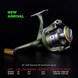 Guangwei GF-W 20 Front Drag Spinning Reel