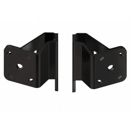 "Power-Pole Dual Brace Side Mount Kit to Jack Plate 2"" Setback - 2"" Rise"