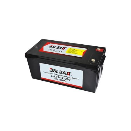 BSL Batt 12,8 V 200Ah LiFePO4 Lithium Ion Deep Cycle Battery