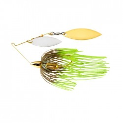 1/2 Oz WAR EAGLE SCREAMIN' EAGLE GOLD FRAME DOUBLE WILLOW SPINNERBAIT-HOT MOUSE wg / WGN