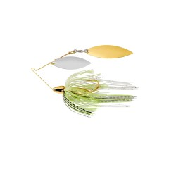 1/2 Oz WAR EAGLE SCREAMIN' EAGLE NICKLE FRAME DOUBLE WILLOW SPINNERBAIT- MOUSE wg / WN