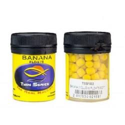 Twin Series Soft Floaties Small Banana (Yellow) 50 ml Tub