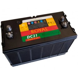 Royal Delkor DC 31 100 A/H Deep Cycle Marine Battery