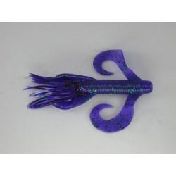 "Gary Yamamoto Kreature Purple with Emerald Flake 4"""