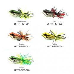 Lures Factory Red Eye Frog Grey 4.5cm