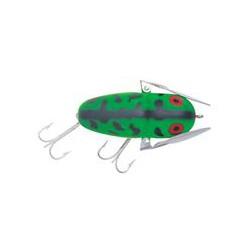 "Heddon Crazy Crawler Fluro Green Craw 2.3/8"" 3/8oz"