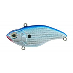 Spro Aruku Shad Chrome Blue 75mm 5/8oz