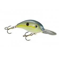 "Strike King Pro Model Series 6XD Chartreuse Sexy Shad 3"" 1oz"