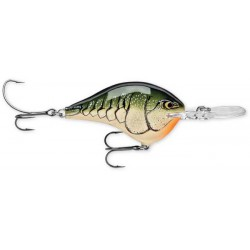 """Rapala Dives-To DT14 Olive Green Craw 2 3/4"""" 3/4oz"""