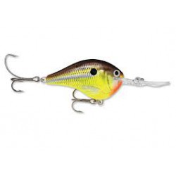 "Rapala Dives-To DT10 Hot Mustard 2 1/4"" 3/5oz"