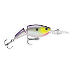 "Rapala Jointed Shad Rap Purple Descent 2"" 1/4oz"