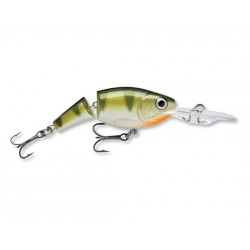 "Rapala Jointed Shad Rap Yellow Perch 2"" 1/4oz"