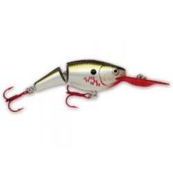 "Rapala Jointed Shad Rap Bleeding Olive Flash 2"" 1/4oz"