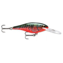 "Rapala Shad Rap Red Crawdad 2"" 3/16oz"