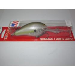 """Norman Deep Diver 22 Chartreuse Shad 3"""" 5/8oz"""