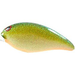 "Norman Heavy Diver 22 Tennessee Shad Orange Belly 3"" 1oz"