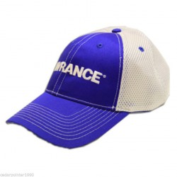 Lowrance Air Mesh Trucker White Blue Hat