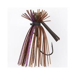Jewel AJ Finesse Jig Brown Purple Flash 5/16oz