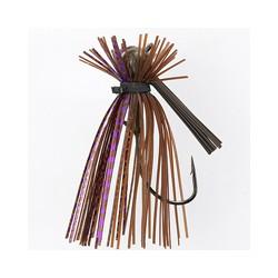 Jewel TJ Finesse Jig Brown Purple Flash 7/16oz