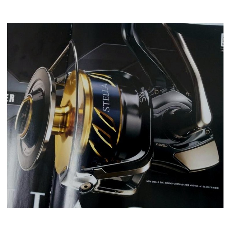 031063c3b1c Shimano STELLA SW 5000 XG Front Drag Spinning Reel - World Of ...