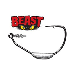 Owner Beast Weighted Twistlock Hook 4/0 -1/4 Oz