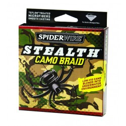 Spiderwire Stealth Camo Braid 8lb 274m
