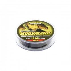 Sensation Pro Series Hook Link Line Black 10lb 200m