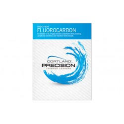 Cortland Precision Fluorocarbon Tapered Leader 5x 4.5lb 9ft