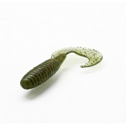 "Cull-em Value Series Grub Watermelon Red 3.5"" 5pk"