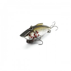 Cull-em Value Series Rattler Silver Shad 6cm