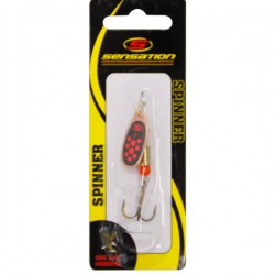 Sensation Bass Fury Inline Spinner Black Red Copper 1