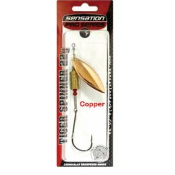 Sensation Pro Series Tiger Spinner Red Flash Copper 22G