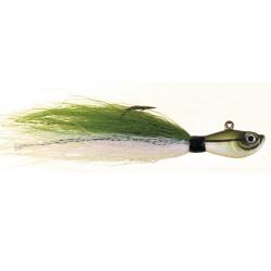 Spro Prime Bucktail Jig Sand Eel Green 1oz