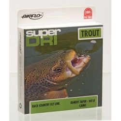 Airflo Super Dri Bandit Camo Floating Floating Weight Forward