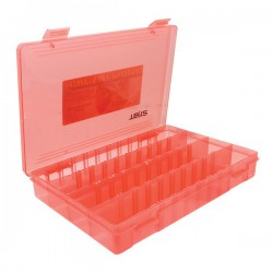 Relix TB12 Tray Clear Red