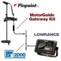 Motorguide Pinpoint  - Lowrance N2K Gateway
