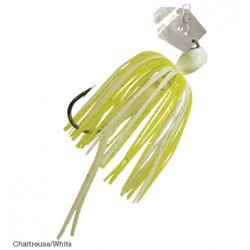 Z-Man Original Mini Chatterbait Chartreuse White 1/4oz
