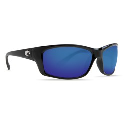 Costa JOSE 580G Sunglasses Black Frame Blue Mirror Glass Lens