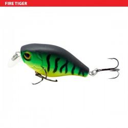 "Sensation Micro Bass Chunky Crank Firetiger 1 1/2"""