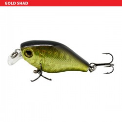 "Sensation Micro Bass Chunky Crank Gold Shad 1 1/2"""